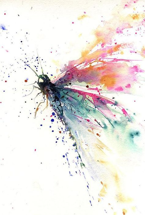 Limited edition afdruk van mijn kunst aan de muur dragonfly | Etsy