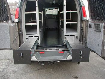 Image Result For Storage Drawers For Work Vans Transit Custom