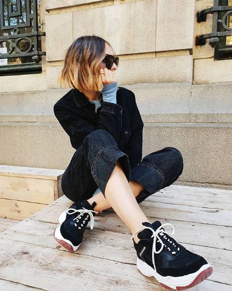 Multi CALVIN KLEIN Sneakers MAYA in 2019 Zwart en wit