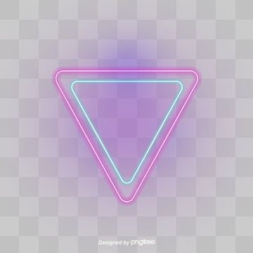Colour Neon Effect Triangular Border Triangle Clipart Triangle Triangular Border Png Transparent Clipart Image And Psd File For Free Download Prints For Sale Lens Flare Effect Ink Brush