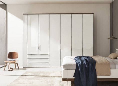 Inspirational Horizont draaideur kast deuren laden wit Nolte meubel verkrijgbaar bij Slaapkenner