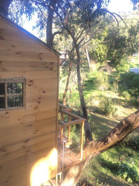 The Enchanted Treehouse At Koalaville Adelaide Hills Tree House House Styles South Australia
