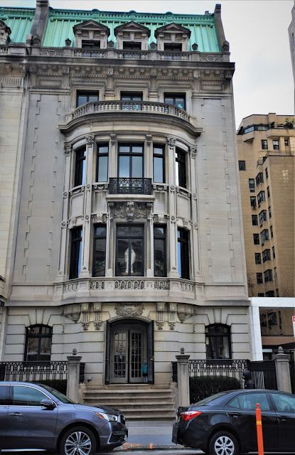 Daytonian In Manhattan The Mary Kingsland Mansion 1026 Fifth Avenue Old Mansions Mansions Neoclassical Architecture
