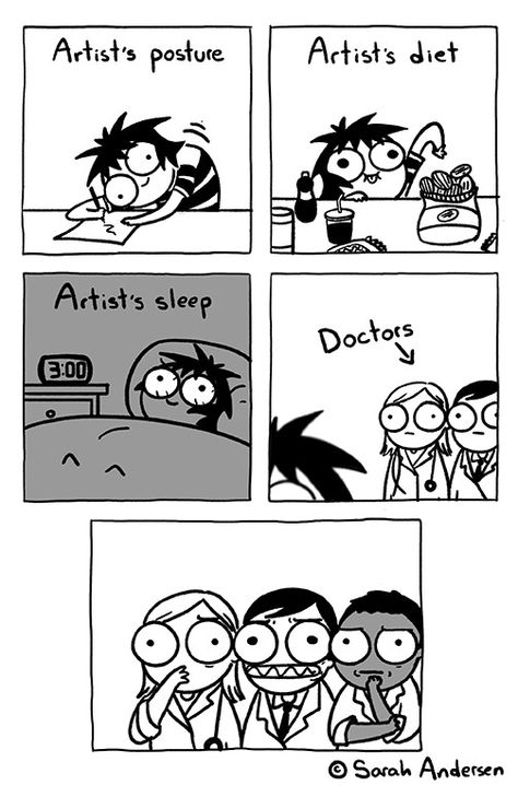 Portion of Sarah Andersen comics to make your day a bit better - The Designest