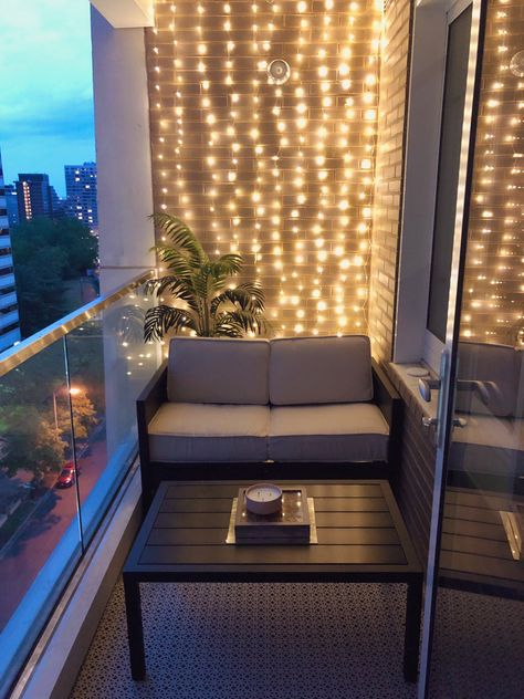"""""""Almost died making this happen. But here's my balcony before and after."""