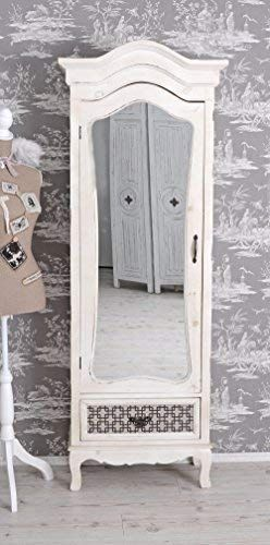 Kleiderschrank Shabby Chic Wascheschrank Spiegelschrank Im Shabby