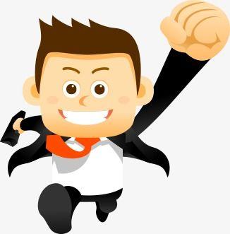 Cartoon Business Man Cartoon Business Man Man Clipart