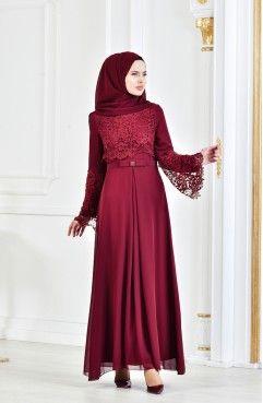 Sefamerve En Sik Tesettur Abiye Elbise Modelleri Aksamustu Giysileri Islami Giyim The Dress