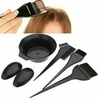 5pcs Set Hair Colouring Brush And Bowl Set Bleaching Dye Kit Beauty Comb Hot Ebay In 2020 Salon Hair Color Diy Hair Dye Black Hair Dye