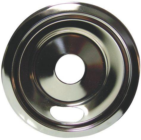 6-Inch Stanco 415-6 Universal Porcelain Stove Bowl