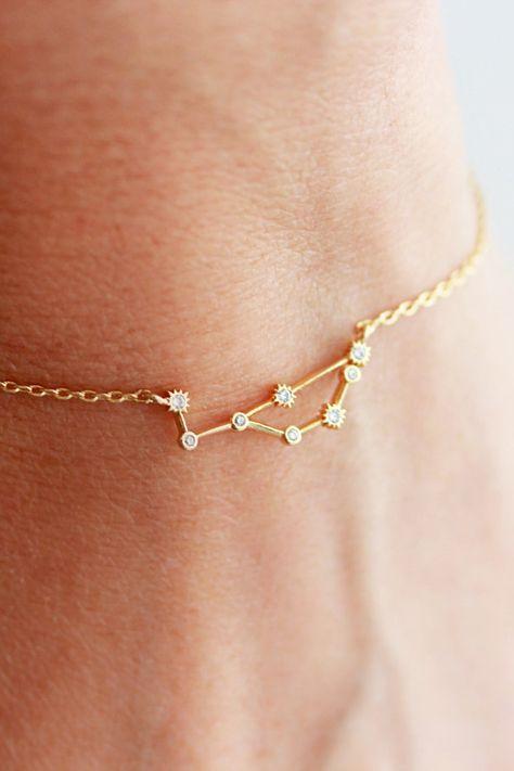 Zodiac Constellation Bracelet