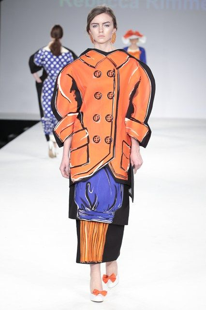 University Of Central Lancashire Spring/Summer 2015 Ready-To-Wear