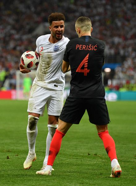 Ivan Perisic Photos Photos England Vs Croatia Semi Final 2018 Fifa World Cup Russia England Football Team Fifa England Football