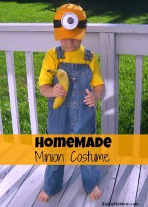 Homemade Minion Costume - very doable! & The Mexican Restaurant Owner Is The Baddie Despicable Me 2 ...