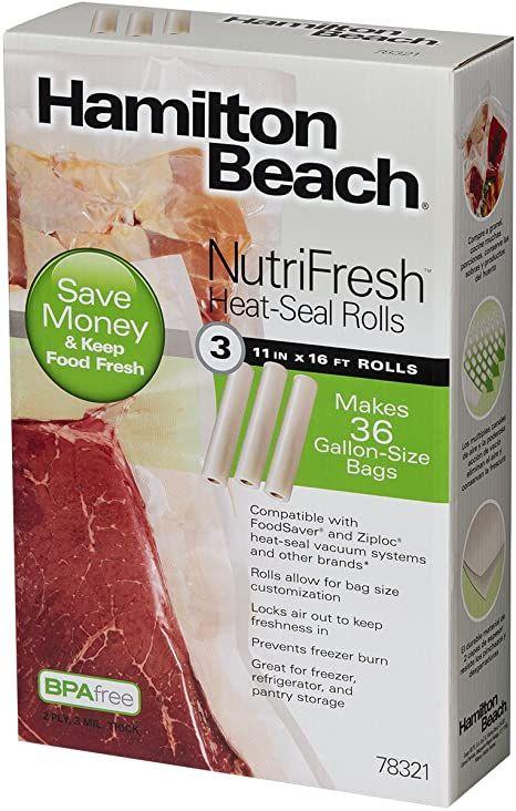 Details about  /Food Vacuum Sealer Bags Rolls Vaccum Food Saver Storage Seal Bag Pack Embossed