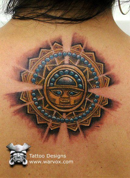 Inti Sun God Tattoo