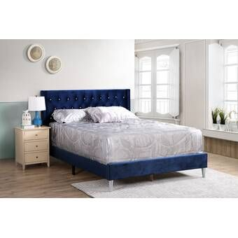 Tao Queen Storage Platform Bed Upholstered Sleigh Bed Bed Sizes Upholstered Panel Bed
