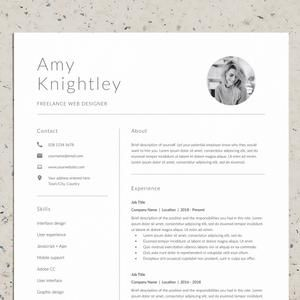 Professional Resume Template Resume Template For Word Resume And Cover Letter Template Lebenslauf Vorlage Modern Resume Template Word In 2021 Resume Template Word Minimalist Resume Template Resume Template
