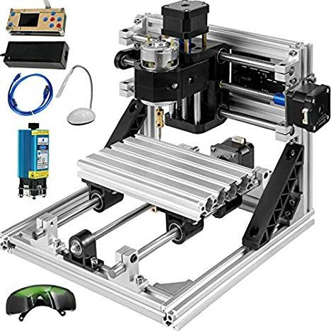 Mophorn Cnc Machine With Offline Controller And Laser Head In 2020 Cnc Software Diy Cnc Technology Gifts