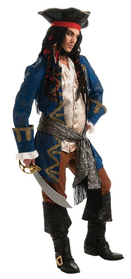 Blue Pirate Costume