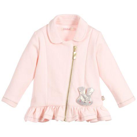 BILLIEBLUSH Baby Girls Pink Milano Jersey Cardigan  7911741d4