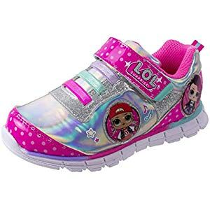 L O L Surprise Shoes Light Up Sneaker And Athletic Tennis Shoes With Strap Mc Swag And Rocker Little Girl Big Girl Fashion Products Tennis Shoe Outfits Summer Girls Sneakers Outfit Shoes