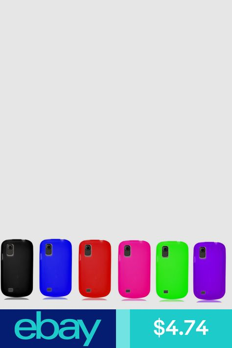Silicone Skin Gel Cover Case for Straight Talk TracFone ZTE Midnight