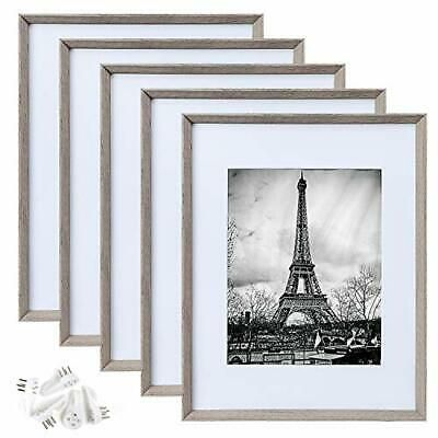 Upsimples 11x14 Picture Framefits Pictures 8x10 With Mat Or 11x14 Light Grey Fashion Home Garden Homedcor In 2020 11x14 Picture Frame Picture Frame Display Frame