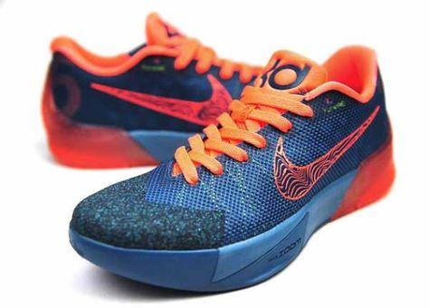Nike KD Trey 5 II: Rift BlueBright Mango | Snickers shoes