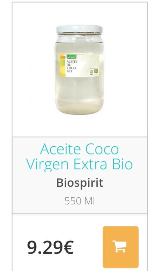 Aceite De Coco Virgen Extra Naturitas Aceite De Coco Aceite Coco