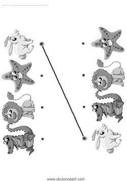 Eslestirme Calisma Kagidi Clock Decor