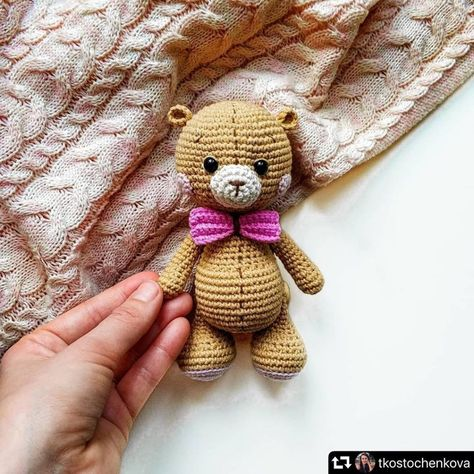 Amigurumi Crochet Osito Bear Free Pattern | Teddy häkeln, Teddybär ... | 474x474