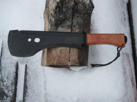 Machete carried by the Spetsnaz