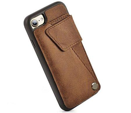 hot sale online f3168 569ea Best Leather Cases for iPhone 8 in 2018 | How To iSolve ...