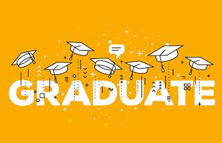 صور تخرج 2021 رمزيات مبروك التخرج Line Art Design Graduation Images Vector Illustration