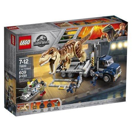 Lego Jurassic World T Rex Transport 75933 Lego Jurassic Park Lego Jurassic World Lego Jurassic