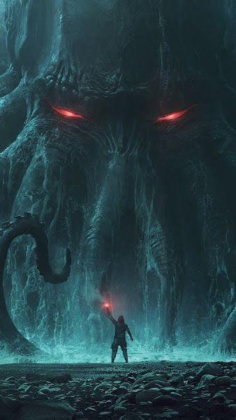Fantasy, Monster, Cthulhu, 4K,3840x2160, Wallpaper - #4K3840x2160 #Cthulhu #Fantasy #Monster #Wallpaper