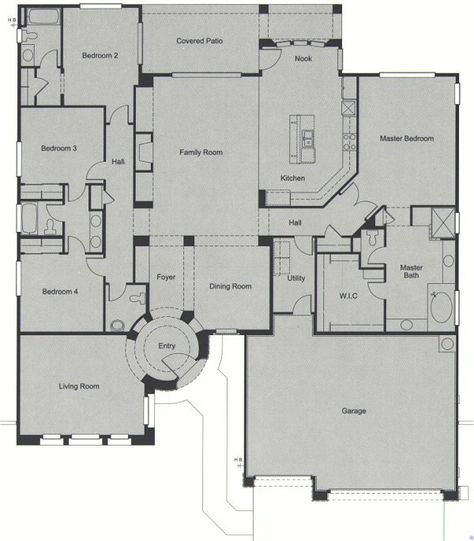 floor plan on pinterest floor plans open floor plans and house