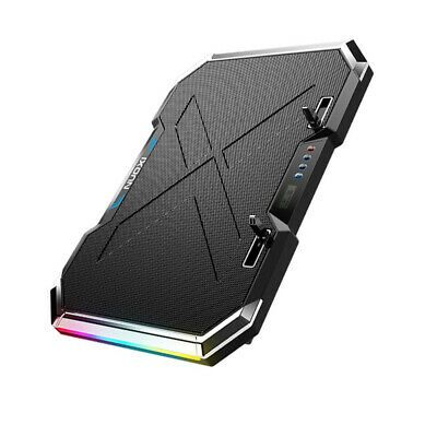 Ebay Link Ad 1pc Laptop Cooler Rgb Led Durable Notebook Cooling Mat Computer Stand Usb Cooler In 2020 Laptop Cooler Desktop Accessories Laptop