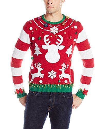 The Ugly Christmas Sweater Kit Men's Make Your Own Ugly Christmas ...