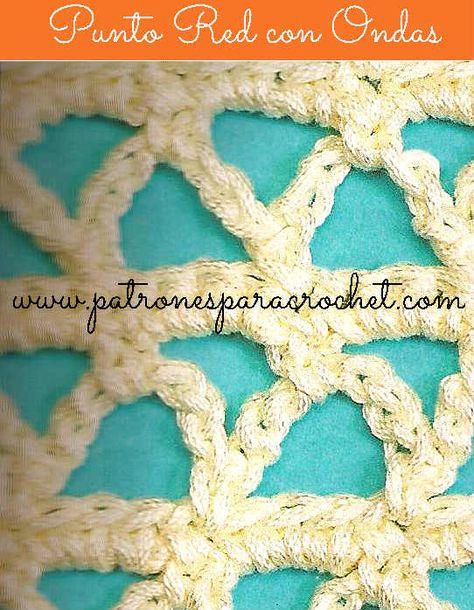 Como Aprender A Tejer Crochet Para Principiantes Como Tejer Punto Red Paso A Paso Aprendemos Crochet Tejidos De