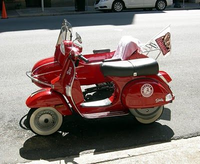 Awesome Bama scooter