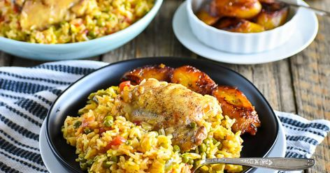 Cuban Arroz Con Pollo - Chicken  Rice Recipe | Yummly