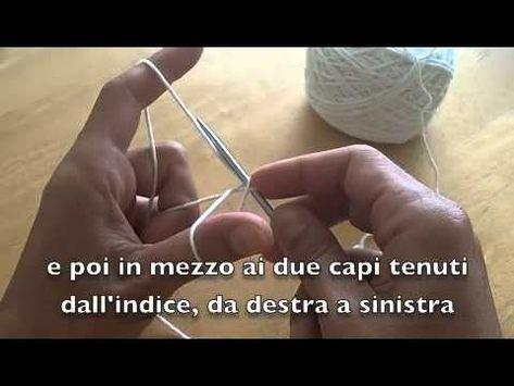 """Una video lezione per imparare a montare le maglie con il metodo """"Long Tail Cast On"""", un sistema molto usato negli schemi in inglese e che permette di ottene..."""