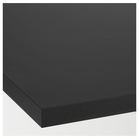 Ekbacken Plan De Travail Mat Anthracite Stratifie 246x2 8 Cm