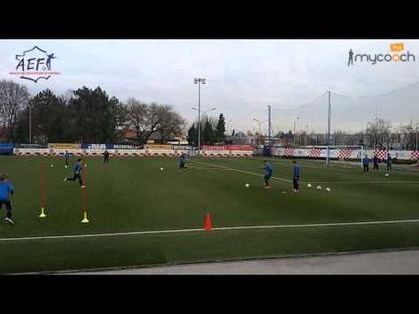 Entrainement Des U15 Du Dinamo Zagreb Youtube Football Training Drills Football Drills Football Training