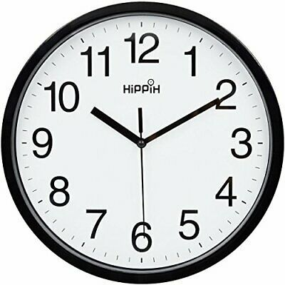 Details About 10 Silent Quartz Decorative Wall Clock Non Ticking Classic Digital Clock Black In 2020 Clock Wall Decor Wall Clock Silent Wall Clock
