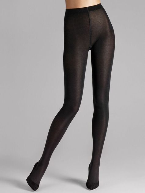 These opaque tights are a sensual revelation on the skin thanks to their exclusive mix of cashmere and silk. Reinforced soles, heels and toes make these tights a worthy investment.