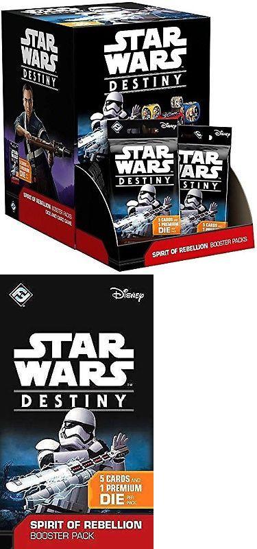 Star Wars Destiny Spirit of Rebellion TCG Sealed Booster Box