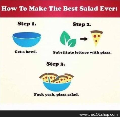How to make the best salad ever